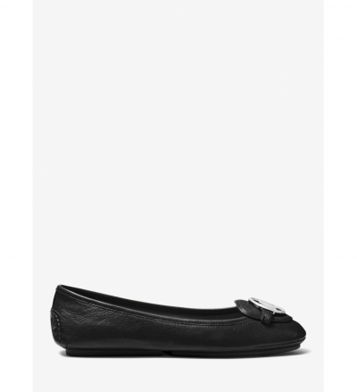 MICHAEL Michael Kors Lillie Leather Moccasin