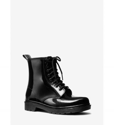 MICHAEL Michael Kors Tavie Logo Tape Lace-Up Rain Boot