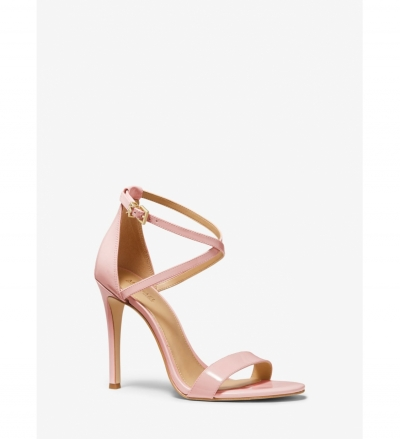 MICHAEL Michael Kors Antonia Patent Leather Sandal