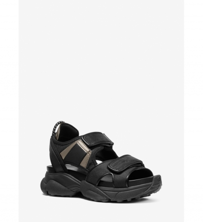 MICHAEL Michael Kors Harvey Canvas Sport Sandal