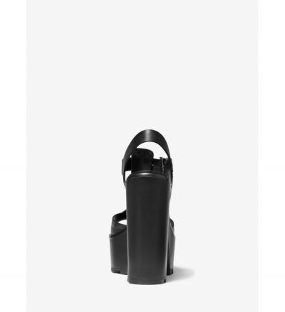 MICHAEL Michael Kors Sinead Leather Platform Sandal