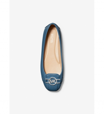 MICHAEL Michael Kors Tracee Saffiano Leather Moccasin