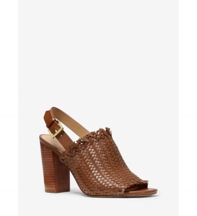 MICHAEL Michael Kors Dee Woven Leather Sandal