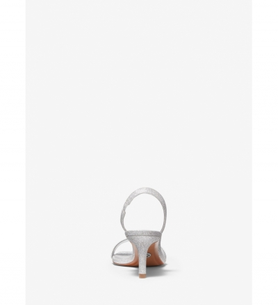 MICHAEL Michael Kors Mila Glitter Sandal