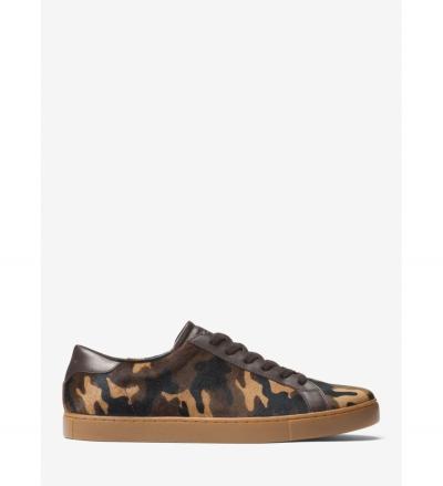 Michael Kors Mens Jake Camouflage Calf Hair Sneaker