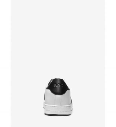 Michael Kors Mens Tyler Leather and Logo Sneaker
