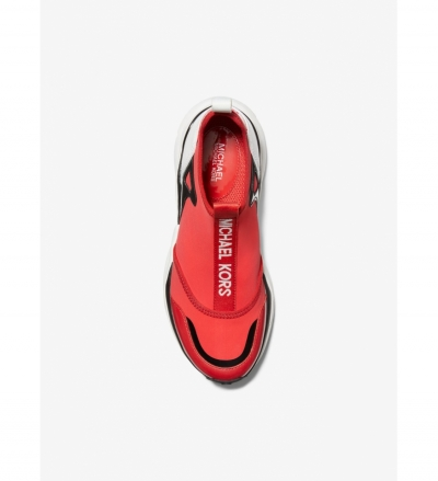 MICHAEL Michael Kors Willow Scuba and Leather Slip-On Trainer