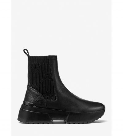 MICHAEL Michael Kors Cosmo Leather Sneaker Boot