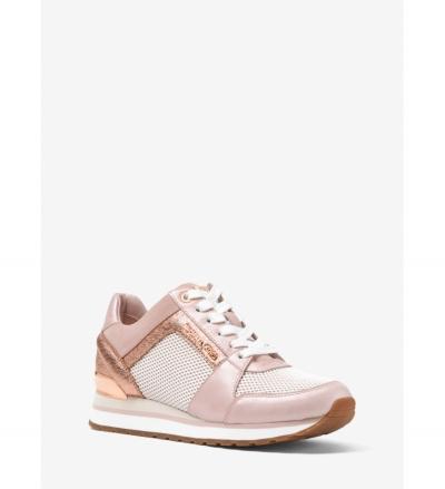 MICHAEL Michael Kors Billie Scuba and Mesh Sneaker
