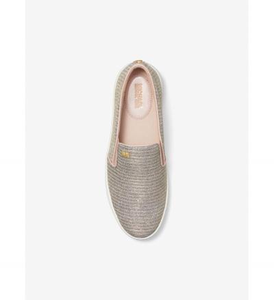 MICHAEL Michael Kors Keaton Chain-Mesh Slip-On Sneaker
