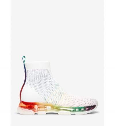 MICHAEL Michael Kors Kendra Stretch-Knit Mesh Sock Sneaker