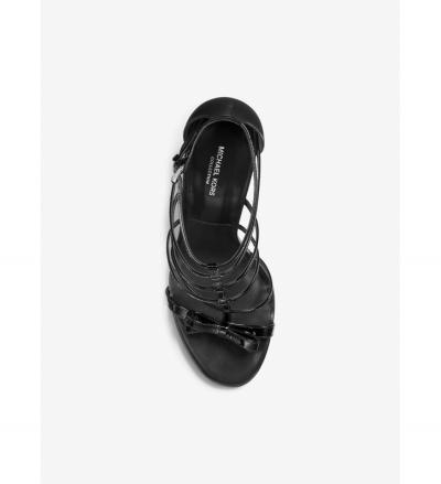 Michael Kors Collection Blythe Patent Leather Sandal