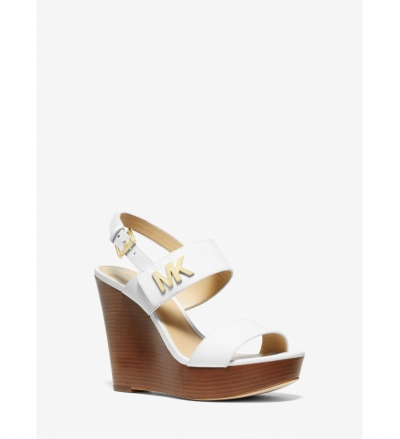 MICHAEL Michael Kors Deanna Leather Wedge