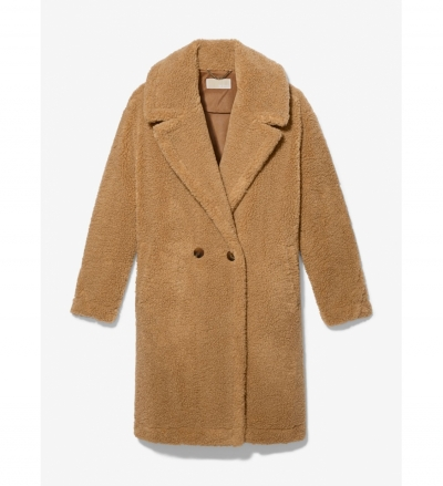 MICHAEL Michael Kors Oversized Teddy Coat