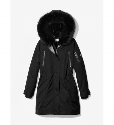 MICHAEL Michael Kors Fur-Lined Waterproof Parka