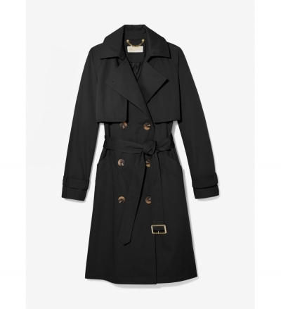 MICHAEL Michael Kors Cotton Blend Trench Coat