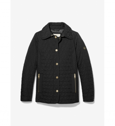 MICHAEL Michael Kors Quilted Barn Jacket