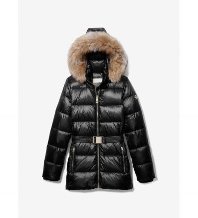MICHAEL Michael Kors Belted Puffer Coat