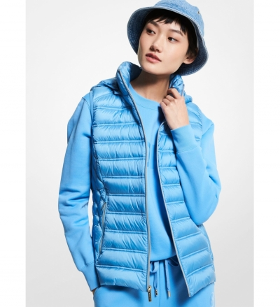 MICHAEL Michael Kors Quilted Nylon Packable Puffer Vest