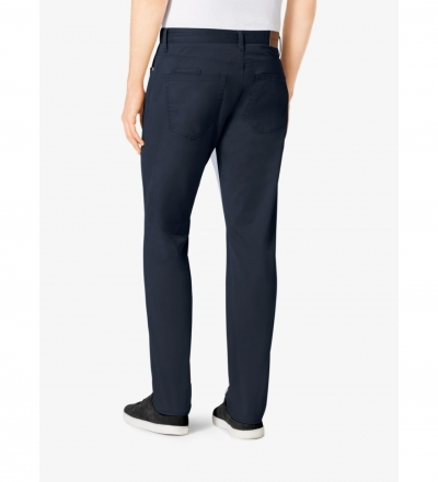 Michael Kors Mens Tailored/Classic-Fit Stretch-Cotton Twill Jeans