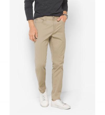 Michael Kors Mens Slim-Fit Cotton-Twill Five-Pocket Pants