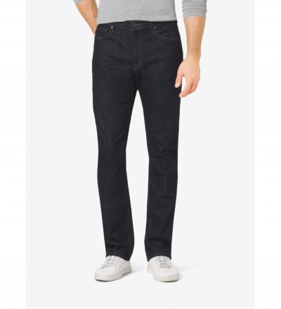 Michael Kors Mens Tailored-Fit Jeans