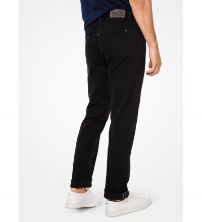 Michael Kors Mens Parker Slim-Fit Stretch-Selvedge Jeans