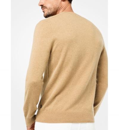 Michael Kors Mens Cashmere V-Neck Pullover