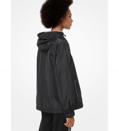 MICHAEL Michael Kors Logo Tape Rain Jacket