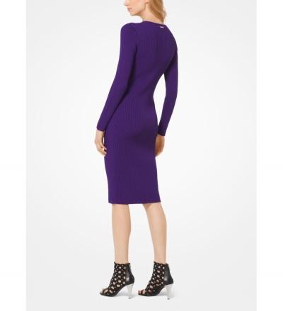 MICHAEL Michael Kors Ribbed Sweater Dress