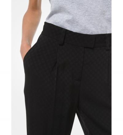 MICHAEL Michael Kors Logo Jacquard Pants