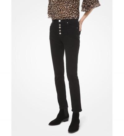 MICHAEL Michael Kors Stretch-Denim High-Rise Skinny Jeans
