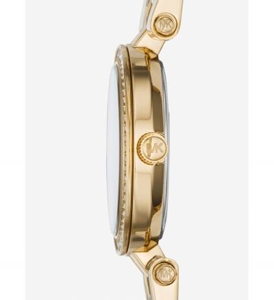Michael Kors  Darci Petite Pavé Gold-Tone Watch