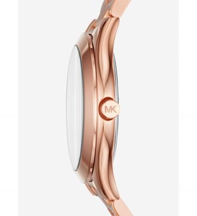 Michael Kors Mini Slim Runway Rose Gold-Tone Watch