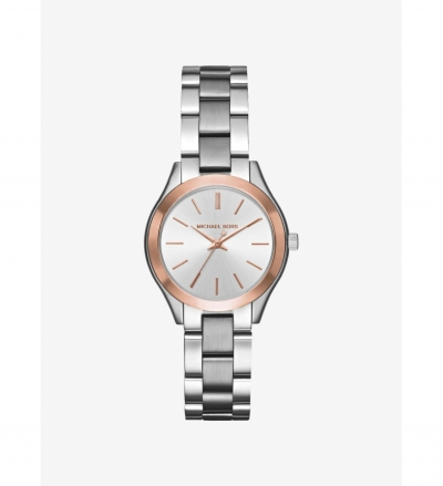 Michael Kors Mini Slim Runway Two-Tone Watch