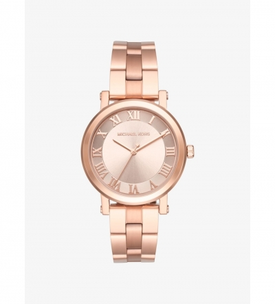 Michael Kors Norie Rose Gold-Tone Watch