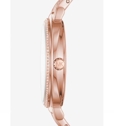 Michael Kors Cinthia Rose Gold-Tone Watch