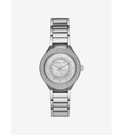 Michael Kors Mini Kerry Silver-Tone Watch