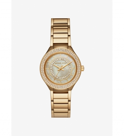 Michael Kors Mini Kerry Gold-Tone Watch