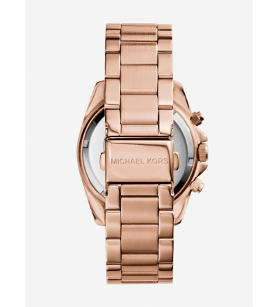 Michael Kors Blair Rose Gold-Tone Stainless Steel Chronograph Watch
