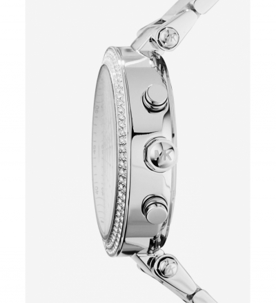 Michael Kors Parker Silver-Tone Watch