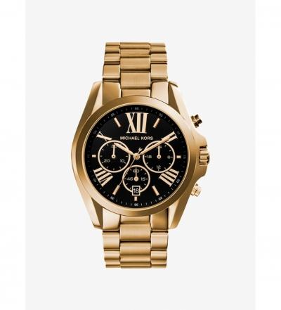 Michael Kors Bradshaw Gold-Tone Watch