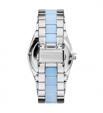Michael Kors Channing Silver-Tone Acetate Watch