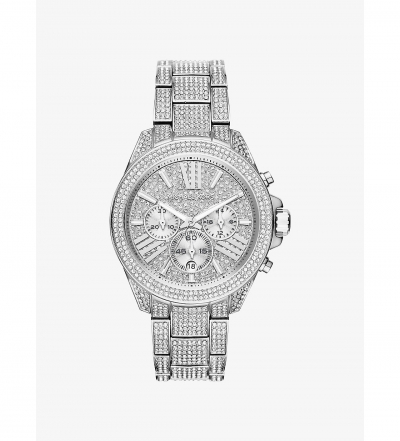 Michael Kors Wren Silver-Tone Watch