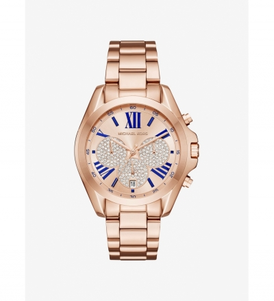 Michael Kors Bradshaw Rose Gold-Tone Watch