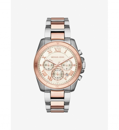Michael Kors Brecken Two-Tone Stainless Steel Watch