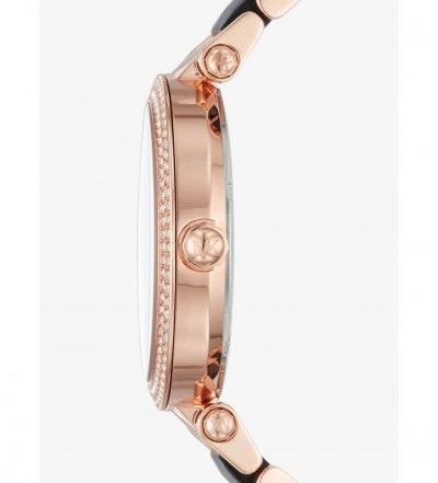 Michael Kors Parker Rose Gold-Tone And Acetate Watch