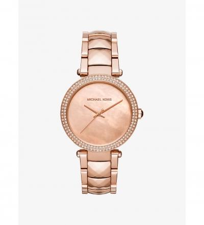 Michael Kors Parker Rose Gold-Tone Watch