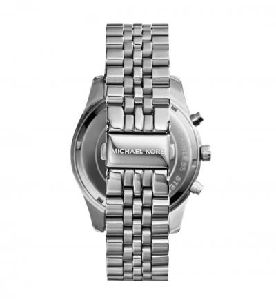 Michael Kors Lexington Silver-Tone Watch