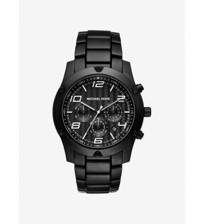 Michael Kors Caine Black-Tone Watch